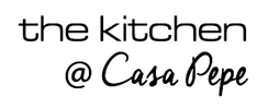 the kitchen @ Casa Pepe